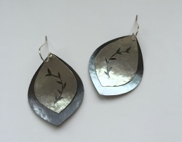 doubleleafearrings